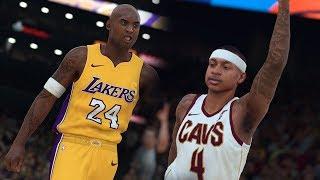 NBA 2K18 Official Kobe Bryant Rating & Screenshot + Isaiah Thomas Cavs Screenshot!
