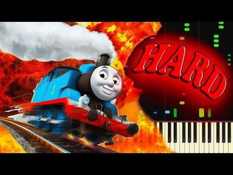 THOMAS THE TANK ENGINE THEME - Piano Tutorial