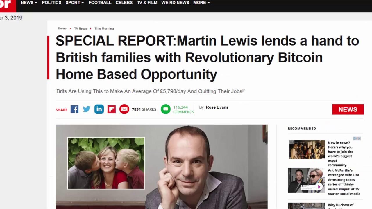 bitcoin trader scam martin lewis