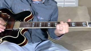 Endgame guitar cover R.E.M.