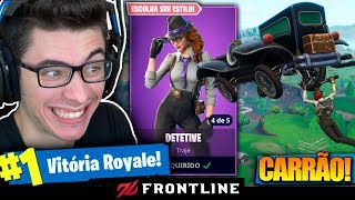 FORTNITE: I BOUGHT THE DETECTIVE'S SKIN AND HAD TO MITAR! Flakes and Inoshy