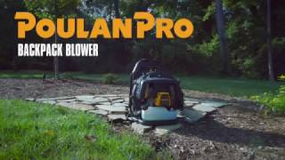 NEW Poulan Pro Backpack Blower (Model PR46BT)