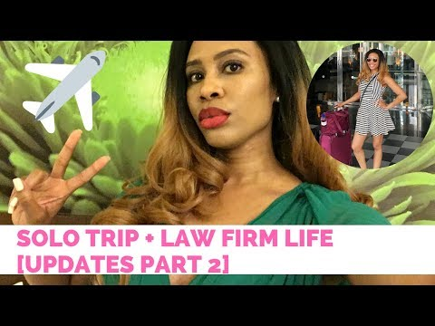 Solo Trip to Panama + Law Firm Life [Updates Part 2]