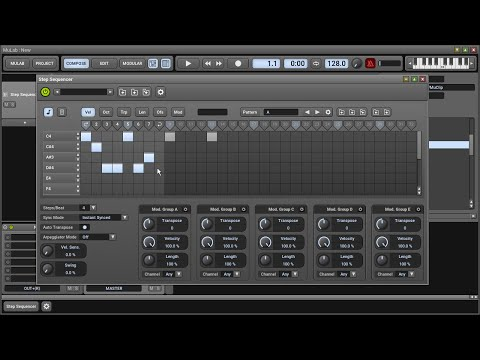M7 Step Sequencer Intro