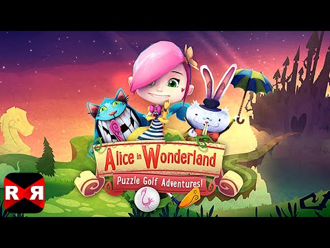 Alice in Wonderland Puzzle Golf Adventures (By Tapstar Interactive) - iOS / Android - Gameplay Video