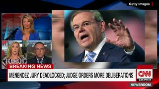 Jury deadlocked in Sen  Menendez corruption case