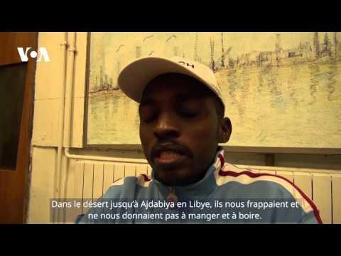 Interview de Abdallah Arku, migrant soudanais, Milan, Italie (VOA/Nicolas Pinault)
