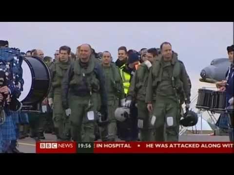 UK Harriers Last Flight