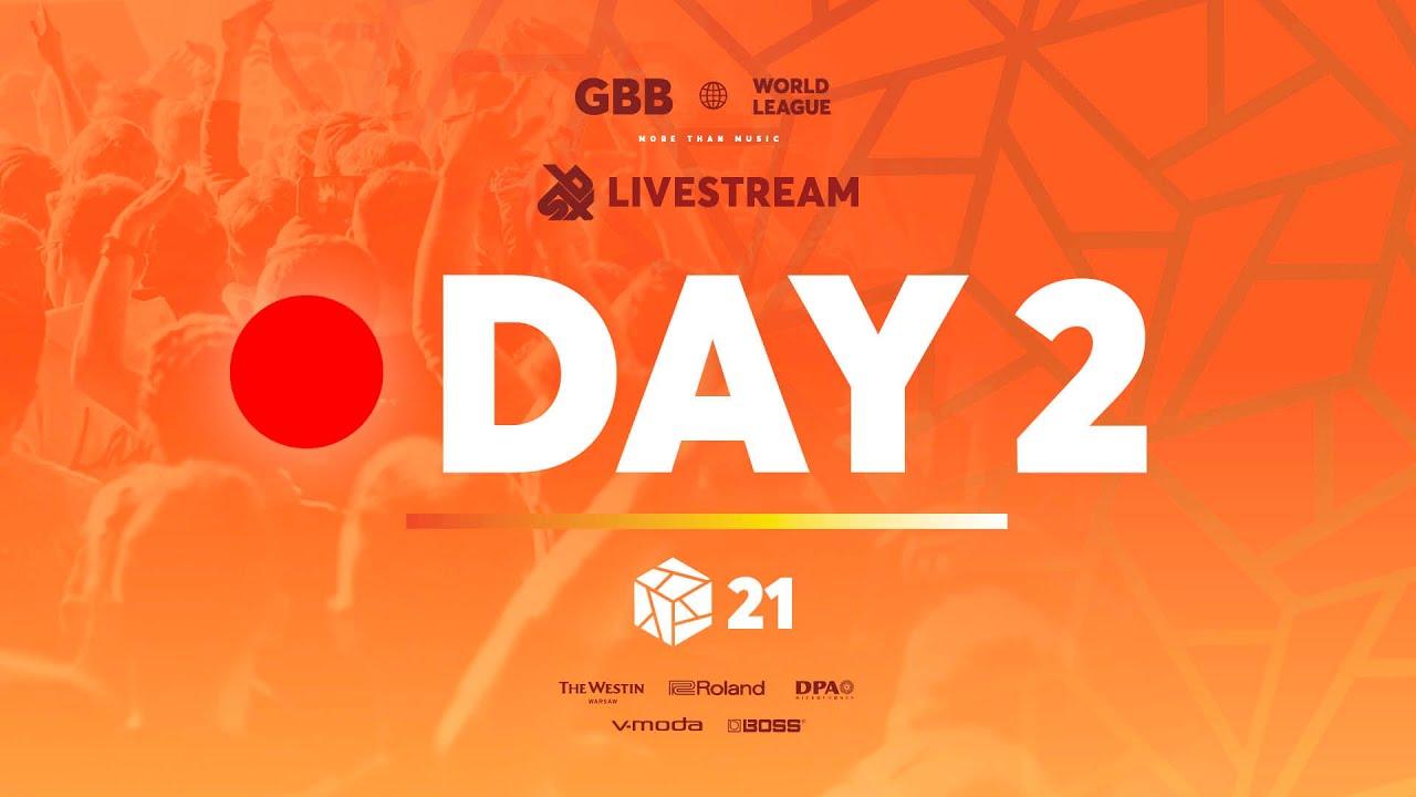 Grand Beatbox Battle 2021 World League  Day 2  Official Livestream