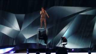 2nd rehearsal Azerbaijan: Farid Mammadov - Hold me (Eurovision 2013)