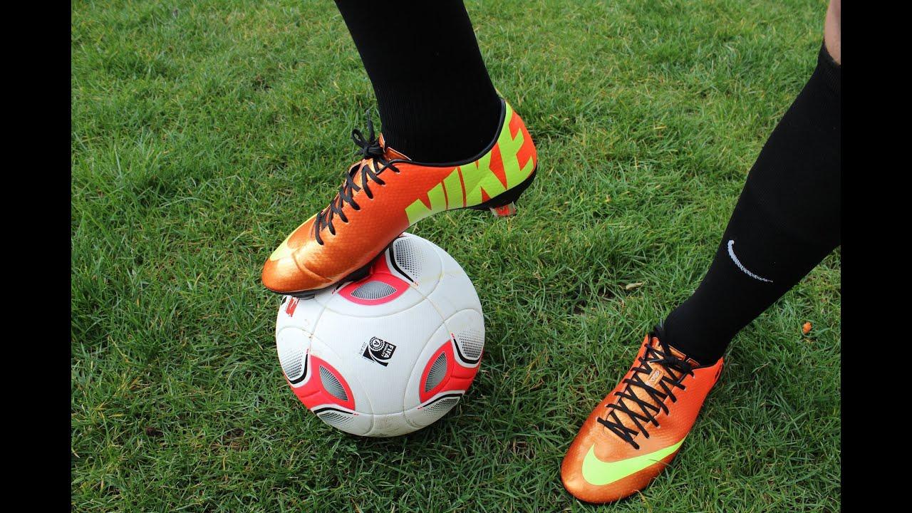 70e47cdd6 Nike Mercurial Vapor IX Orange - Cristiano Ronaldo Shoes - Unboxing  (11teamsports.de) - TrickshowSU