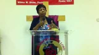 """***new Message*** By Prophet Wilma M. Shaw """"i Am, The Bread!"""" 2/10/13"""