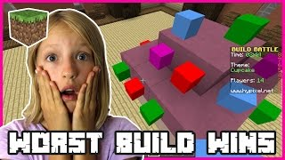 Build Battles - WORST BUILD WINS | Minecraft