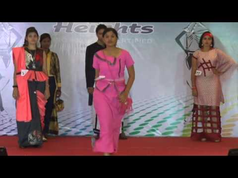 NCFT Heights Madurai Fashion Catwalk - Team 2 | NCFT Heights Fashion Contest 2016
