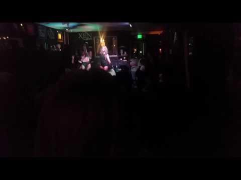 "Performing ""Paradise"" at Xen Lounge in Studio City California"