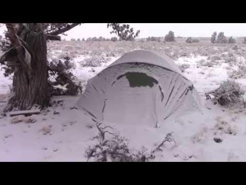 Winter Desert Car Camping