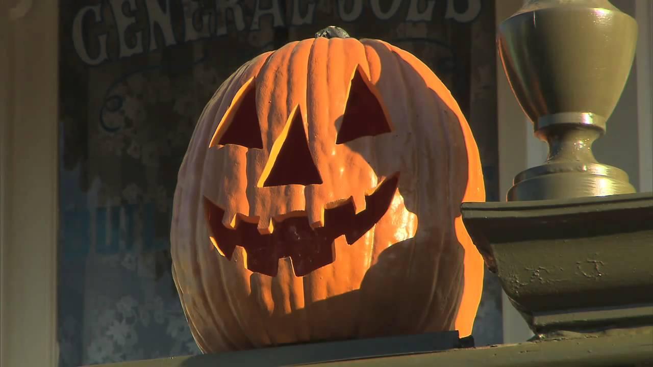 Disney Halloween Pumpkin Carving Ideas - YouTube
