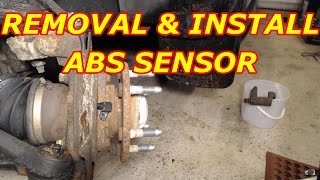 ABS Sensor Removal 2000 Chevy Tahoe