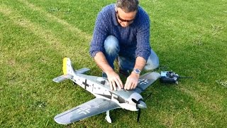 Hobbyking Focke Wulf FW 190 1200 first flight. Need suggestions to help with takeoff