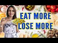 Eat More To Lose More ( Summer Weight Loss Diet Plan ) || SUMMER SPECIAL