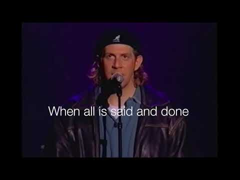When All Is Said and Done Live by Geoff Moore with Lyrics