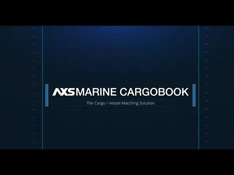 AXSMarine Cargobook - The Cargo/Vessel Matching Solution