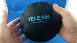 ✅ 4$ Telesin Dome protecting soft cover from AliExpress.com Unboxing haul euro app