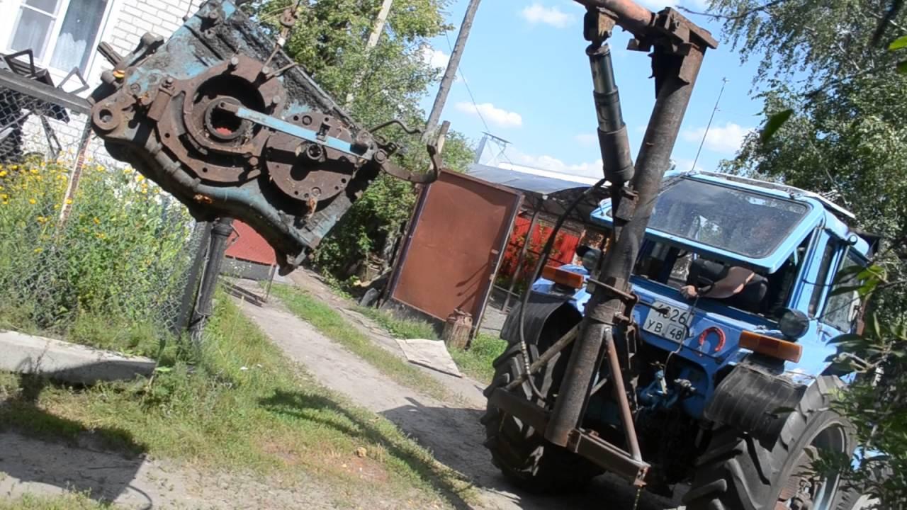 Кран на трактор своими руками фото 86