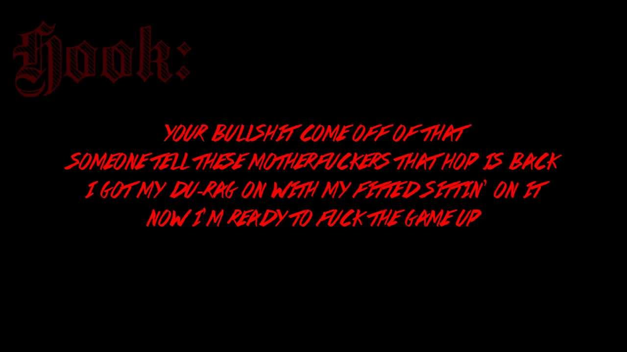 Hopsin - Hop is Back - Lyrics [HD]