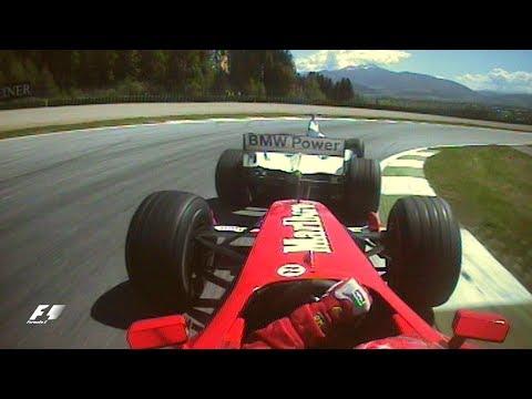 Schumacher And Montoya Battle In Austria | 2001 Austrian Grand Prix