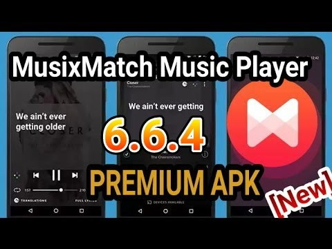Music Player MusixMatch Premium 6.6.4 Apk | Lyric's Offline