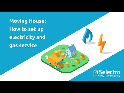How to open and close your energy bills when moving home