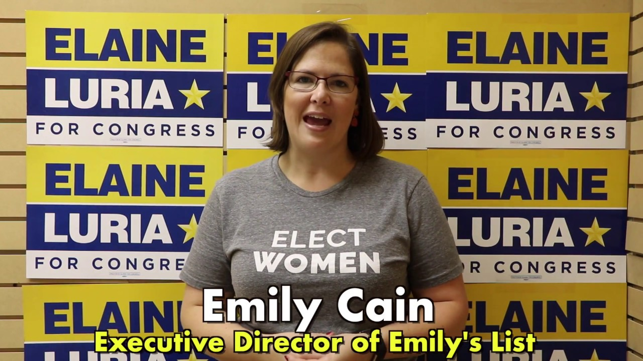 Emilys List Endorsements 2020.Emily Cain Emily S List Executive Director Endorsement