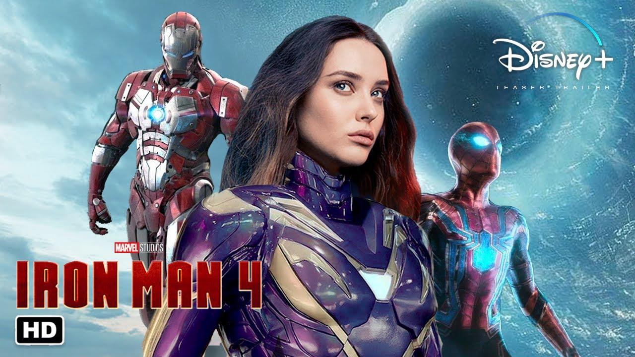 Download IRON MAN 4 Trailer #1 HD | Robert Downey Jr., Katherine Langford, Tom Holland Concept