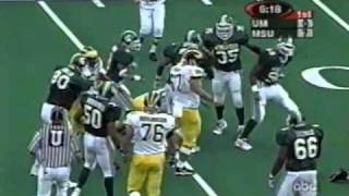 10/9/1999 - Michigan State 34 Michigan 31
