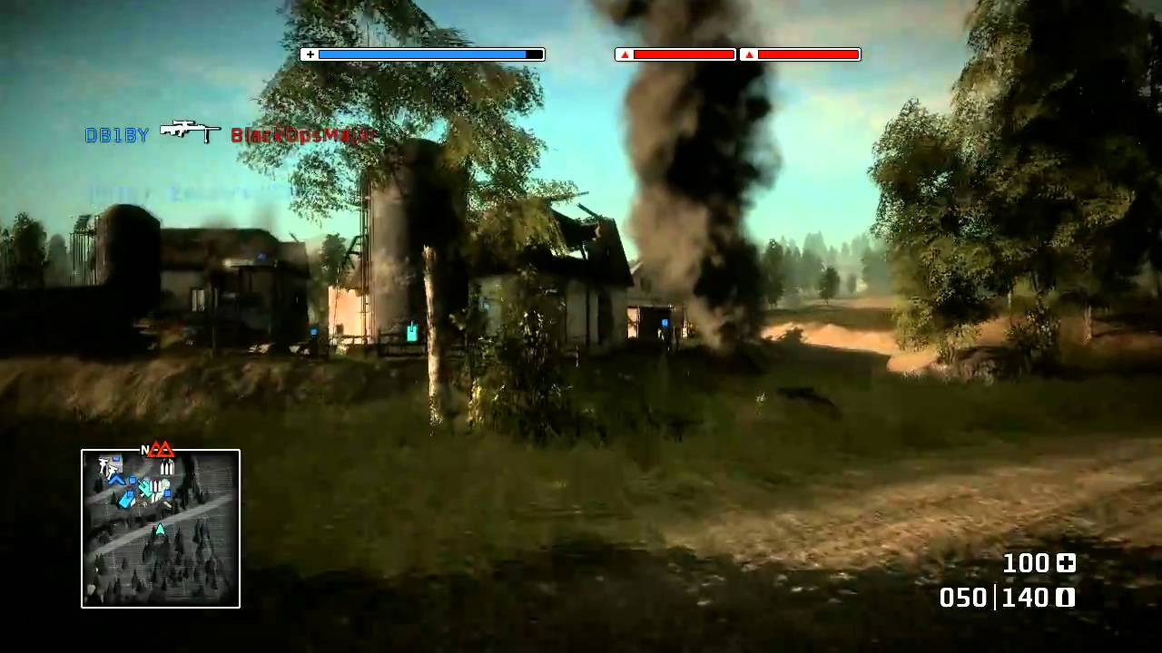 battlefield bad company 1 gold rush auf harvest day commentary