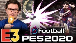 E3 2019 : On a joué à eFootball PES 2020, champion avant l'heure ?