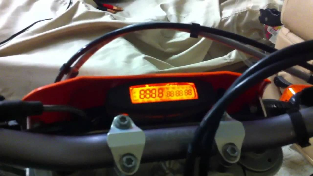 Ktm 530 Exc Speedometer Problem Youtube