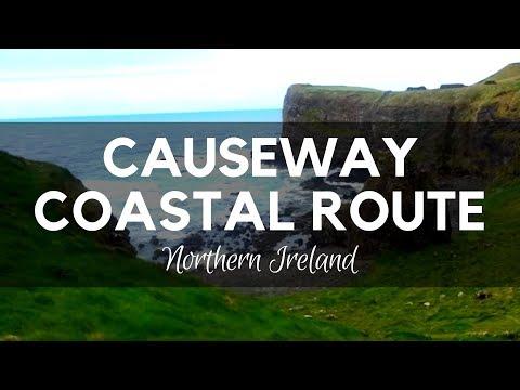 Causeway Coastal Route - Northern Ireland - Dunluce Castle - Bushmills - North Coast - County Antrim