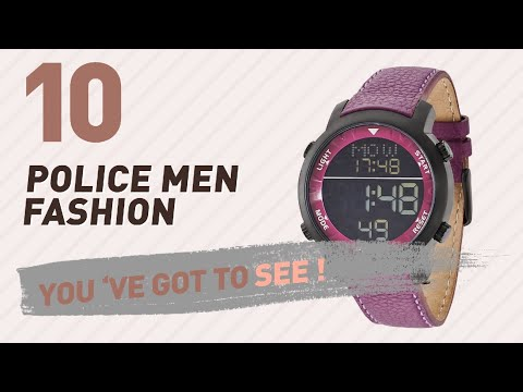 Police Men Fashion Best Sellers // UK New & Popular 2017