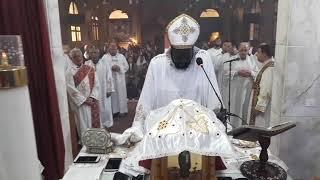 القداس اليوم بكنيسة الصليب المقدس - ثكنات المعادي - الجزء الاول