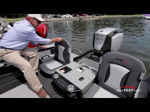Alumacraft Edge 185 Sport (2016-) Test Video - By BoatTEST.com