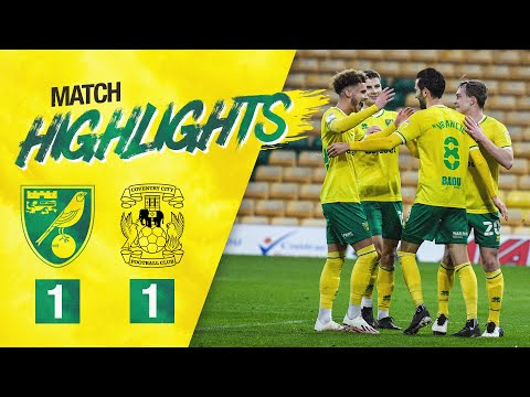 HIGHLIGHTS | Norwich City 1-1 Coventry City