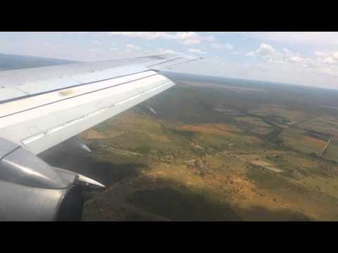 Air Zimbabwe 737-2N0/Adv - Landing at Bulawayo Airport