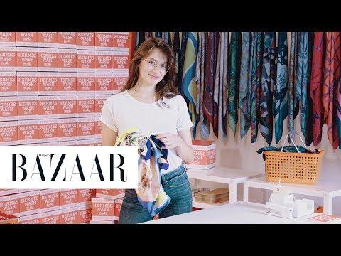 Visit the Hermès Pop Up Shop with Jessica Clements