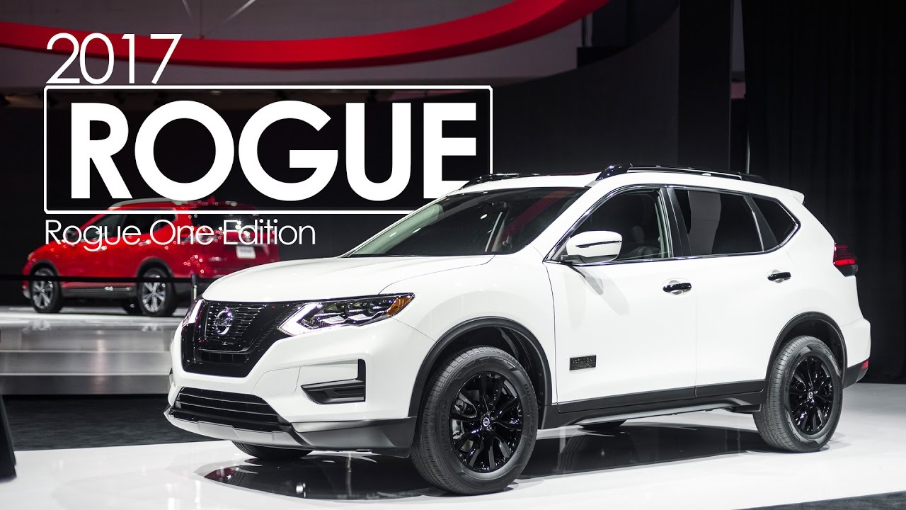 2016 Los Angeles Auto Show 2017 Nissan Rogue One Special Edition