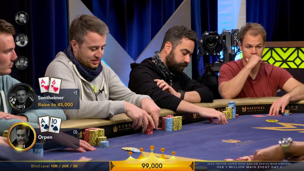 High roller poker tv show odds of poker machine win