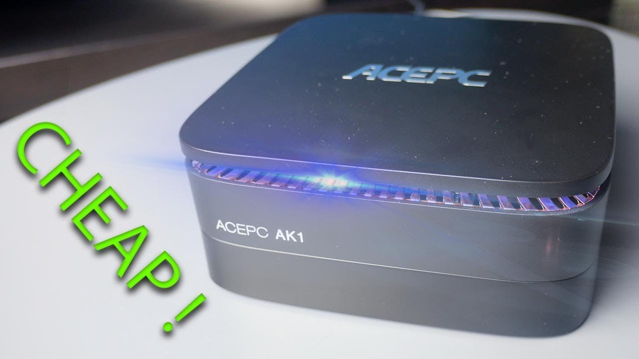 Mini PC Power House - Ultimate 4k EXPERIENCE! ACEPC AK1