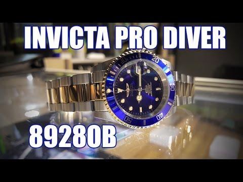 Invicta Pro Diver 8928OB – Review, Measurements, Lume