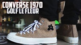 Converse Golf Le Fleur Chuck Taylor 1970 BURLAP Review and On-Feet | SneakerTalk365